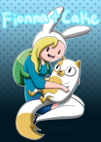 Fionna and Cake by Shannohn