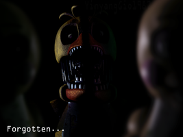 Edits| Withered Chica by YinyangGio1987