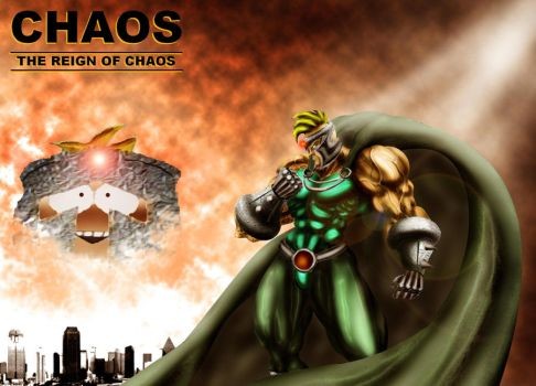 SOUTH PARK'S PROFESSOR CHAOS by B9TRIBECA