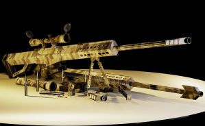 Barrett M107 .50 Caliber Snipe by nick-tyrrell