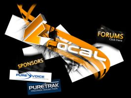 Team Focal Splash Page by squizzi