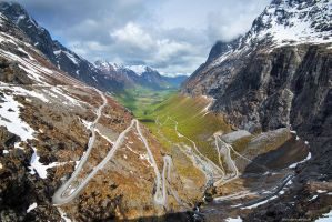 Trollstigen by Dave-Derbis