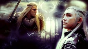 King Thranduil by Elflover21