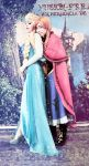 I got you Elsa, Frozen cosplay elsa y anna by MissWeirdCat