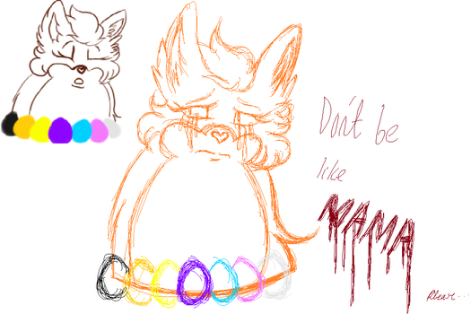 TATTLETAIL: Don't Be Like MAMA SKETCH by ModernLisart