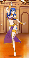 Belly Dancing Juvia by kannana34