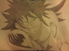 Gajeel drawing by joostbrouwer