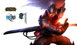 PROJECT: Yasuo League of Legends Render by RikkuTenjouSs