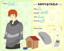 HT :: Cory by EnchantedAdopts