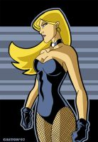 Black Canary by Gaston25