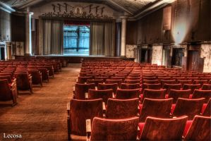 old theater by Lecosa