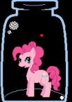 MLPFIM: Pinkie Pie in a bottle by PsychoticKpopper