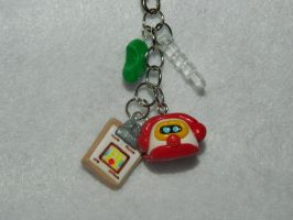 Animal Crossing:HHD Cellphone/3DS Charm Strap by lovekinkls