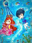 The Lovers of Tanabata by mahoujirou