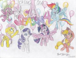 MLP: FiM - Are You Ready for Season Four?! by SemiJuggalo