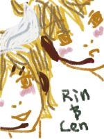 Yellow=Rin and Len by mintOskitties