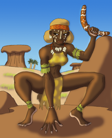 Desert Huntress by BrandonSPilcher