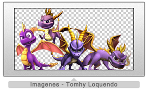Pack Renders Spyro by TomhyLoquendo