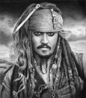 Captain Jack Sparrow by SvenjaLiv