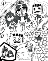 LBP2 doodles 5 by DreamerMB