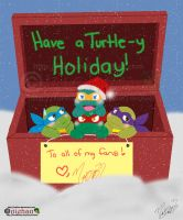 Have a Turtle-y Holiday by nichan