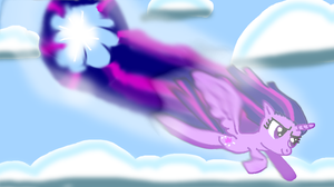 Twilight Rainboom by Samantha062104