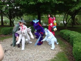 Okami Group Cosplay 1 by Exile-wolfy