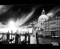 sunny venice II - BW version by chem-graph