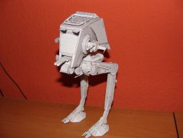AT-ST Walker Papercraft by matt2106