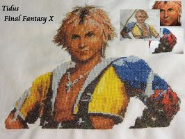 Tidus - Cross Stitch by Melian-Vidumavi