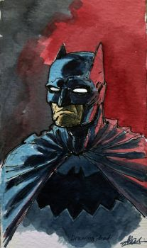 Batman by Drawing-Bad