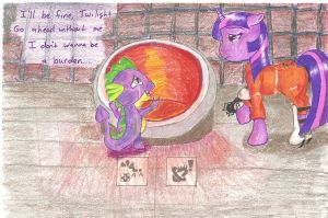 Companion Dragon - Portal:MLP by Jenovaii