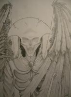 The Angel of Death by DraculeaRiccy
