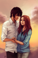 :C: Ren and Kelsey by Wernope