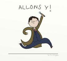 .ALLONS Y!. by bababug