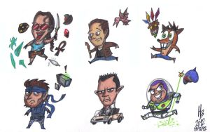PlayStation 1 - Chibi (Part 1) by HaBer44