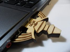 Master Sword Flash Drive by zantaff