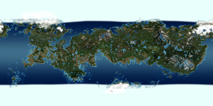 Pluto terraformed by 1Wyrmshadow1