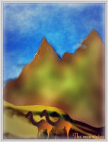 LUFT-LOVE, The mountains by LUFT-CAVERZNOVICH