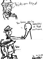 A Halloween comic? by Mayumiligaya