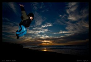 Sunset Fighter by Aderet