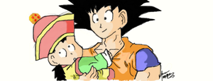 Father and Son by S0N-GOKU