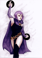 Raven by Ombre-Lumineuse