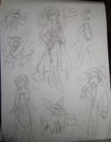 GMD Pirate Sketch Dump 2 by ALS123