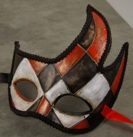 Mask-Rosso Burlone by EffigyMasks