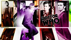The Tenth Doctor wallpaper by HappinessIsMusic