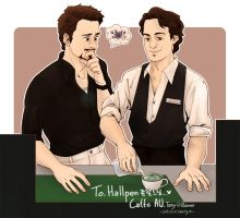 Caffe AU*0* Science Bros! by ttx6666