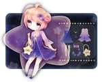 ADOPTABLE: Twinkle Star Girl [Auction: CLOSED] by shusical