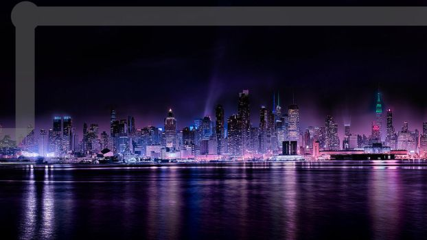 NXOE Wallpaer City by bhast2