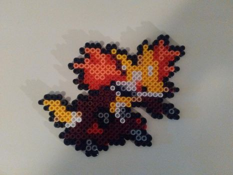 Peler beads Delphox by bGilliand